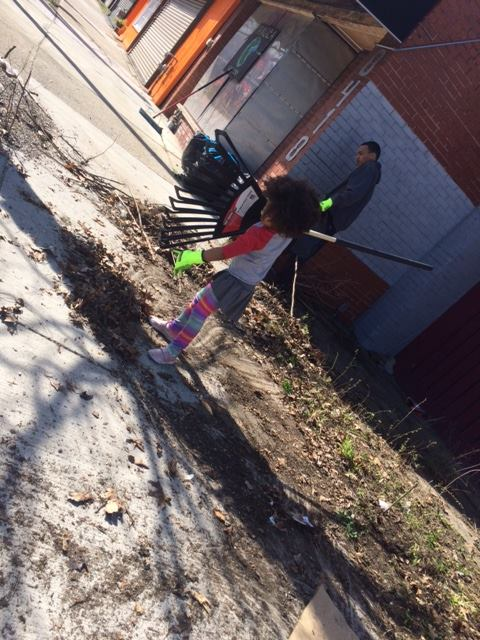 Help us clean & activate our playgarden.
