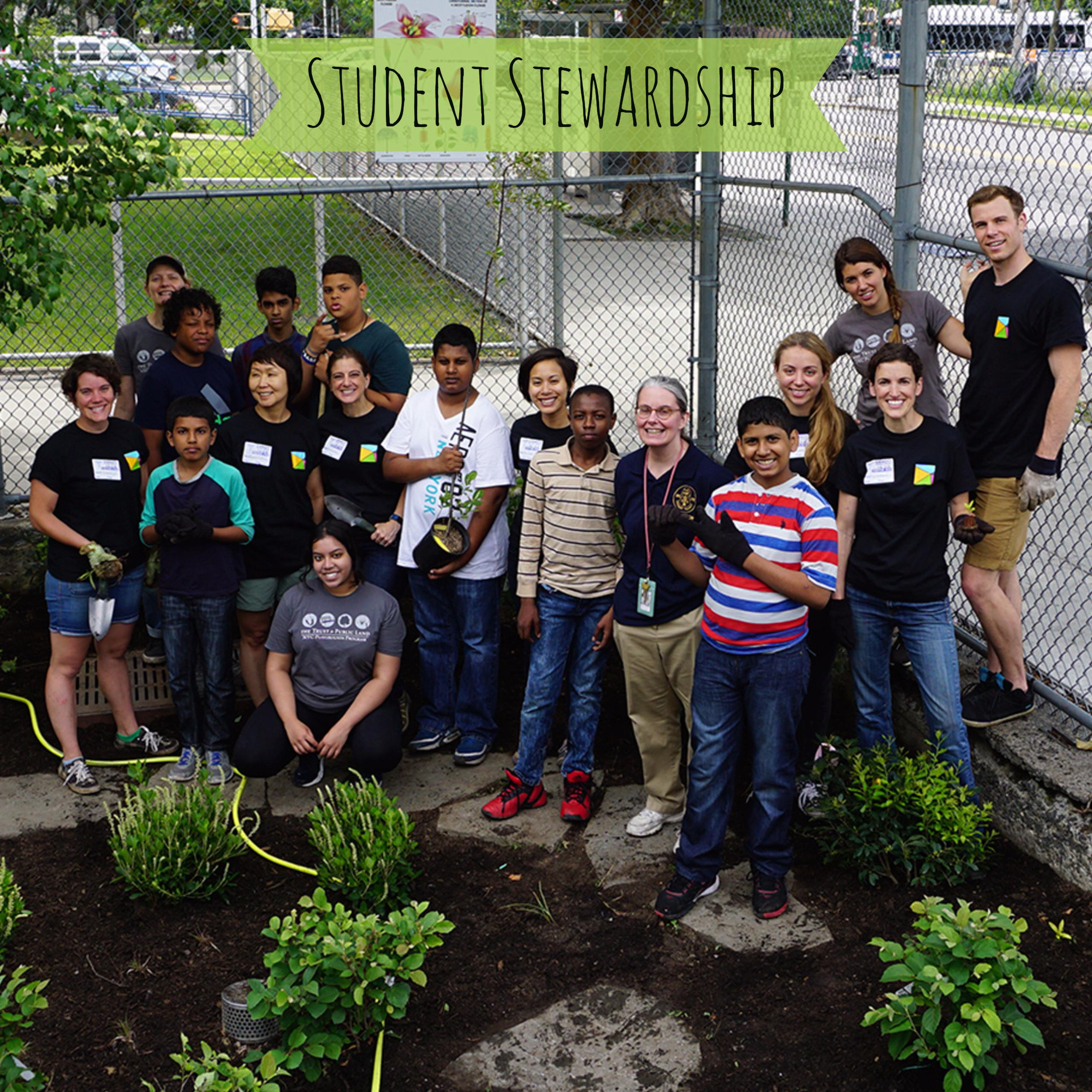 Our Student Stewardship Team