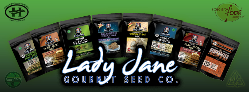 Lady Jane Gourmet Seed Co product line