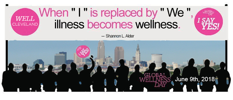 "When ""I"" becomes ""WE"", Illness becomes wellness"