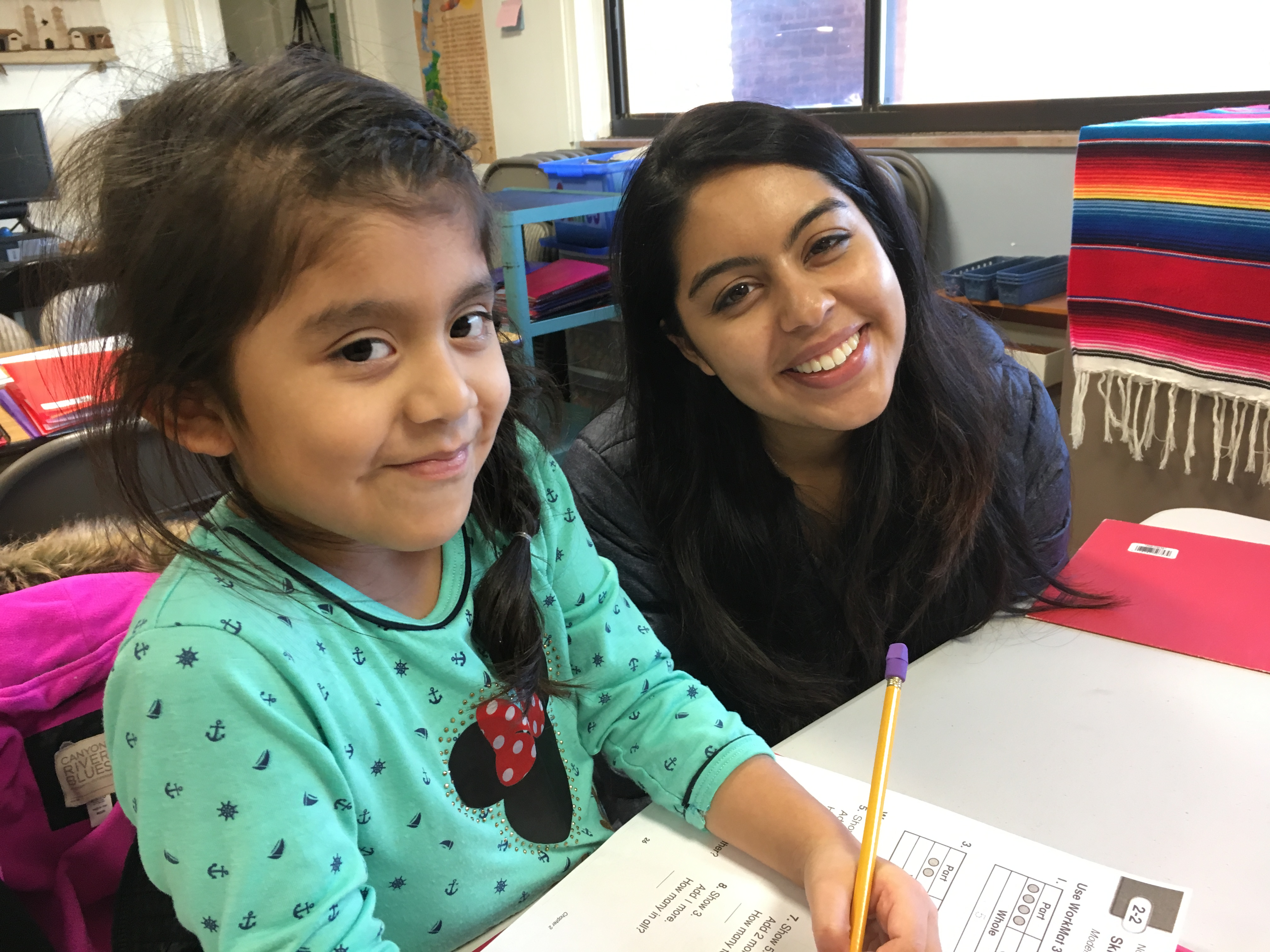 Children are tutored.