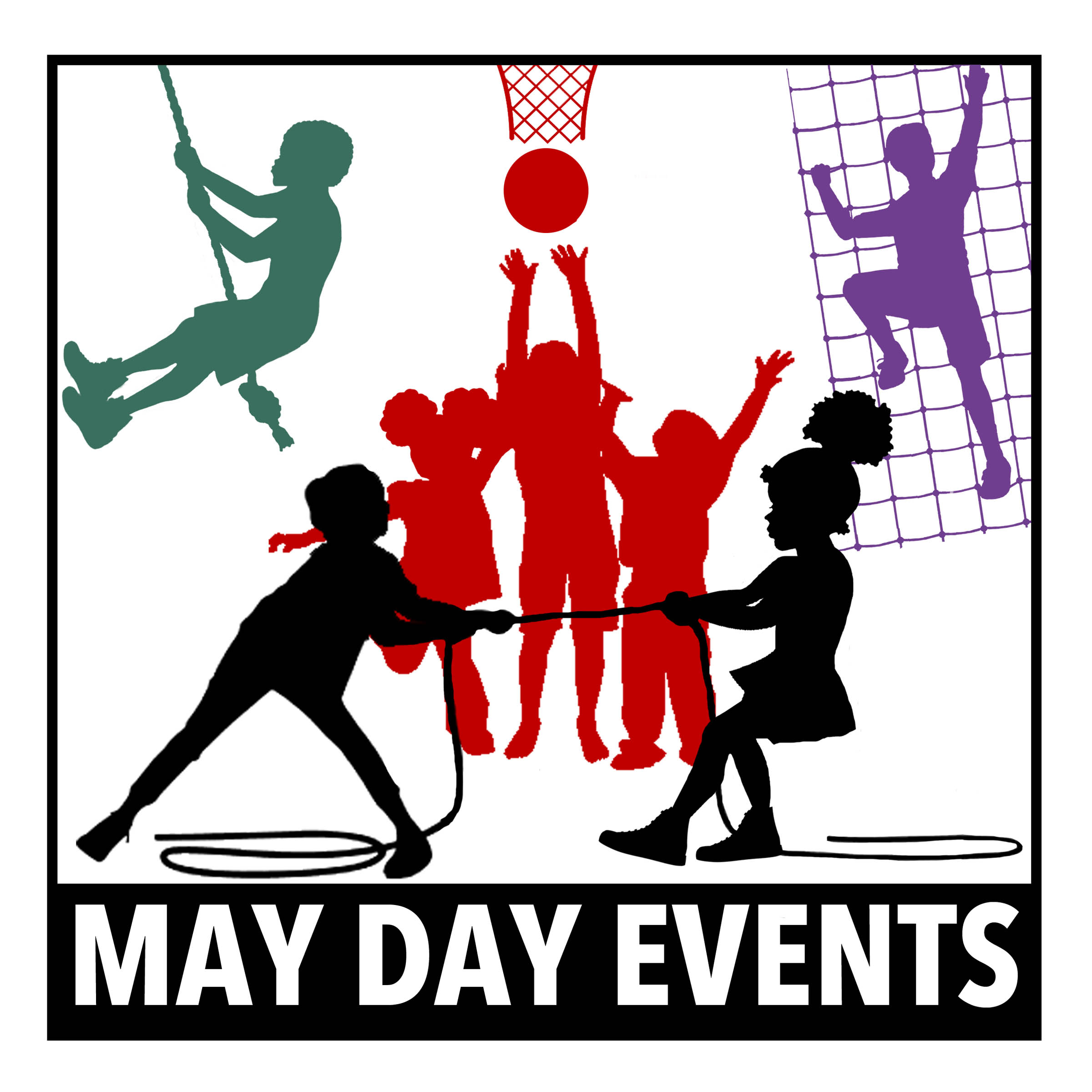 May Day Events Logo