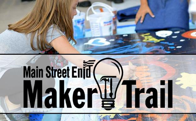 Main Street Enid Maker Trail