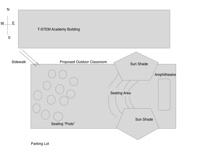 T-STEM Academy Outdoor Classroom Blueprint