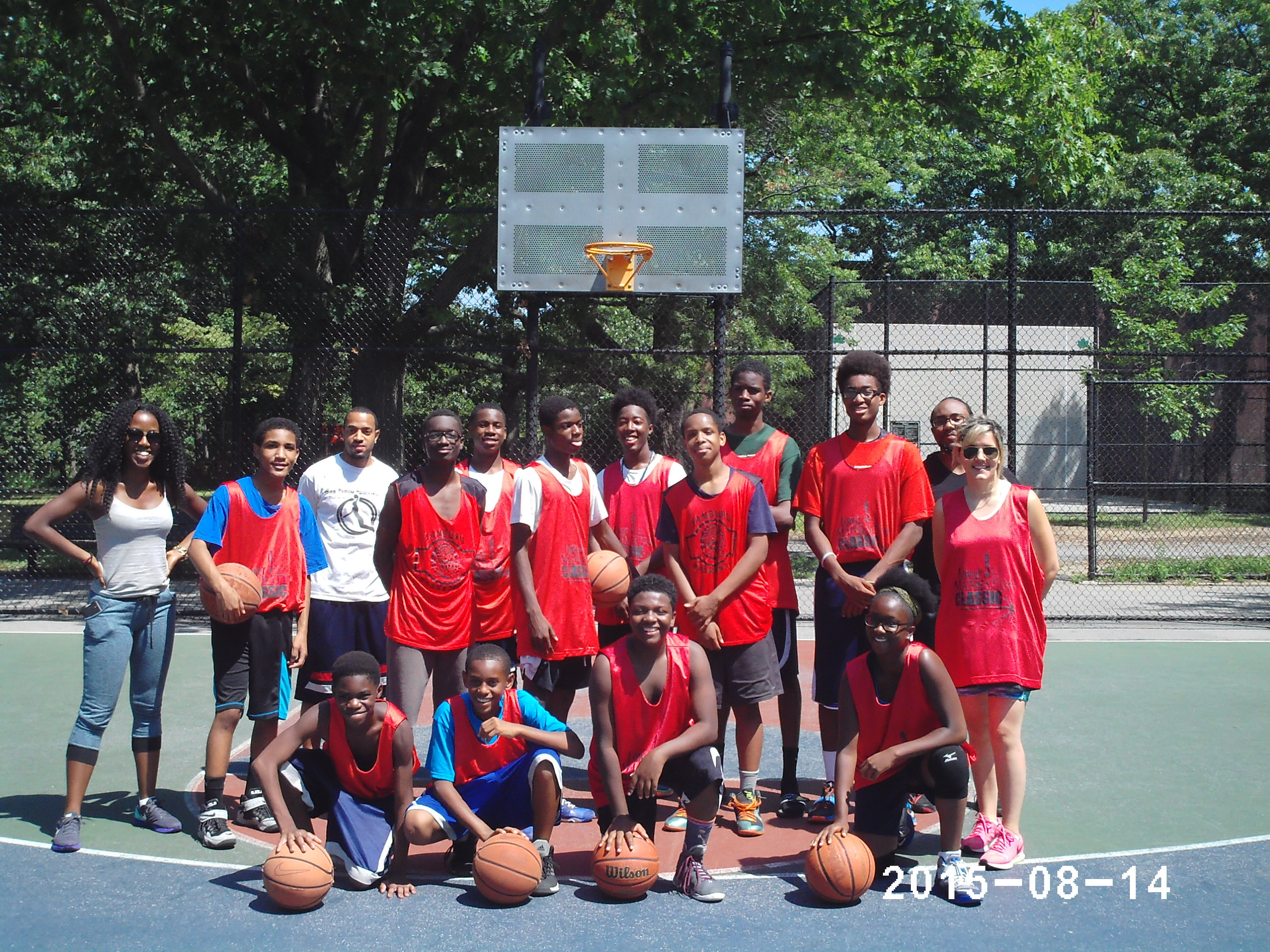 2014 Masai Basketball Camp