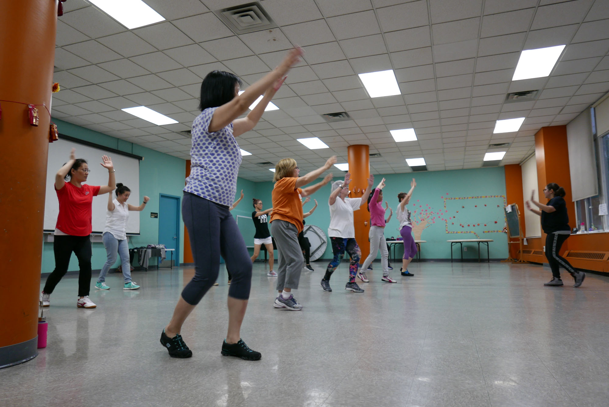 Two Bridges Fitness Zumba Class