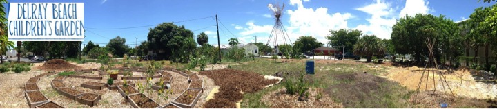 Panoramic View of Delray Beach's Children's Garden