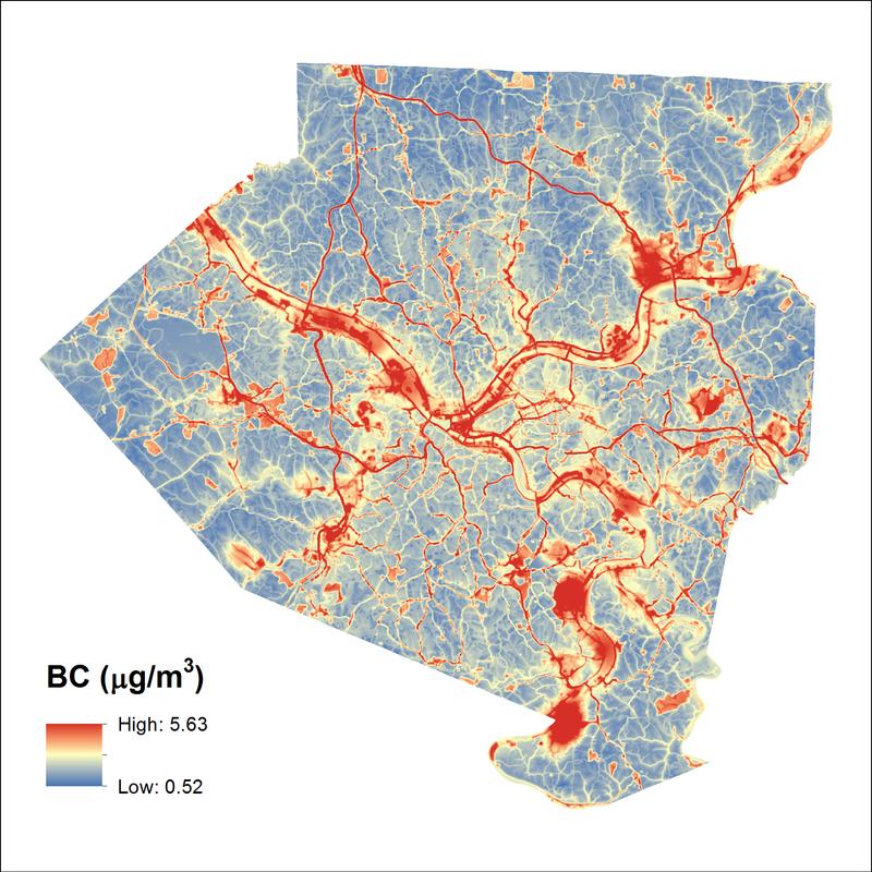 Air pollution along Pittsburgh's transportation corridors