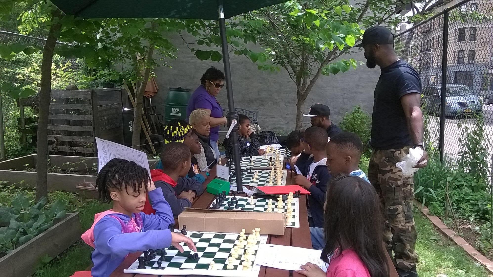 Chess in the Garden
