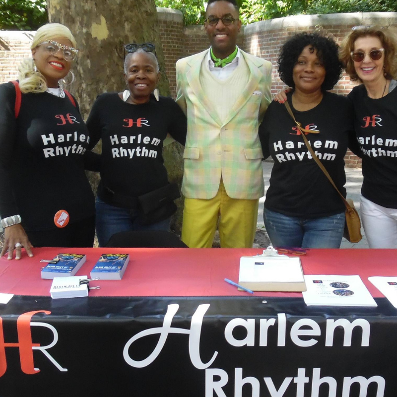Harlem Rhythm volunteers and dance instructor