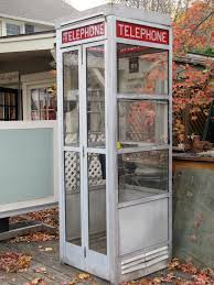A frestanding phone booth is what we hope to utilize.