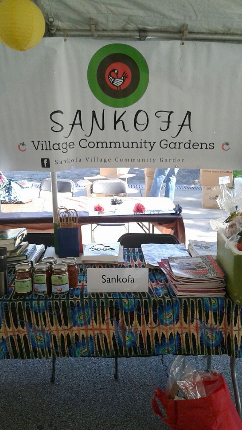 Sankofa Village Community Garden  N.Braddock Ave. and Susquehanna St
