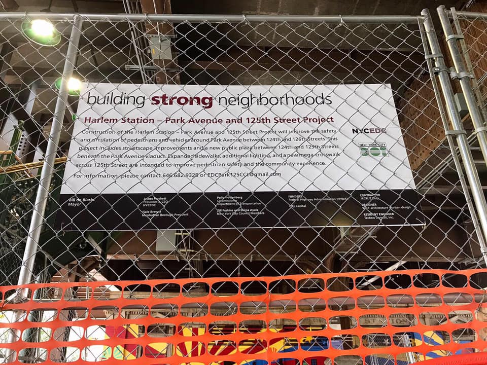 NYC EDC / NYC DOT Harlem Station Project