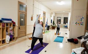 Yoga at Holy Family