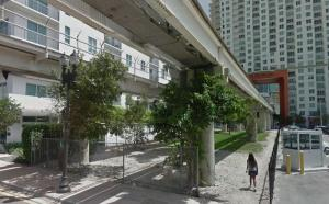 Metromover Existing Cut Through