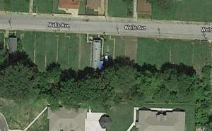 Wells Avenue -- future home of the Abundant Earth community and garden!