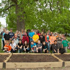 Urban Farm Volunteers 2018