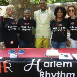 Harlem Rhythm volunteers and dance instructor