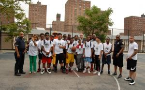 July 9th Bringing the Peace in Drew Park with NCO's and  some BBall