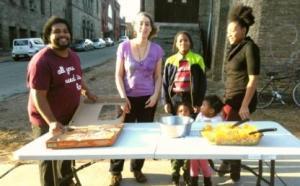 Braddock summer block party participants