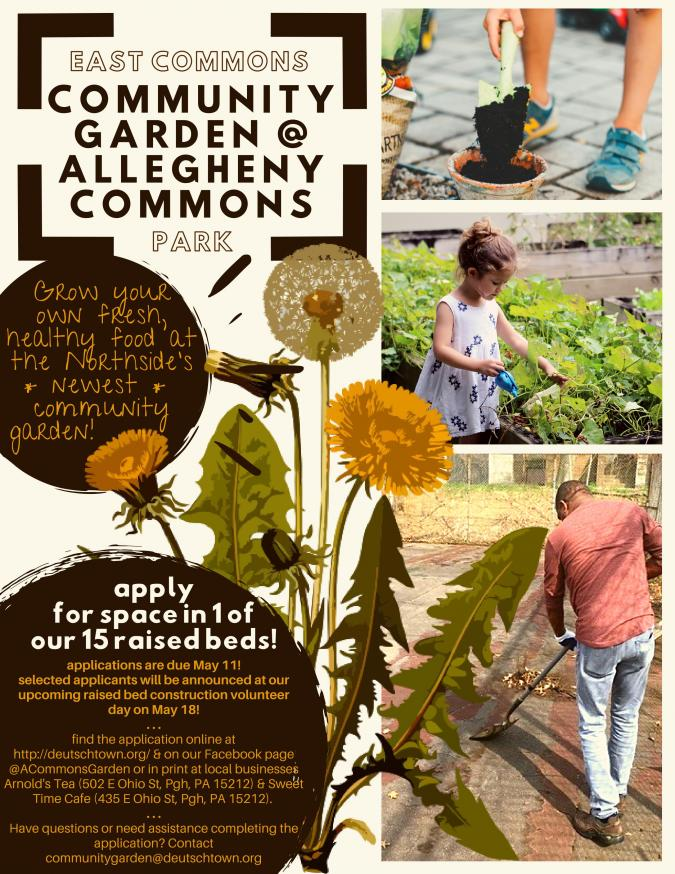 Keep on Building – Community Garden at Allegheny Commons | ioby