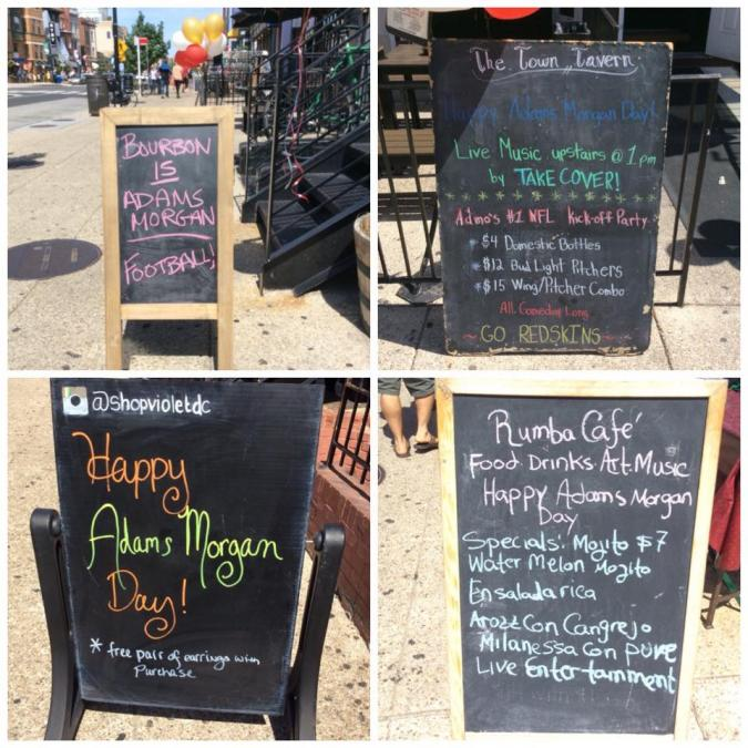 Specials from local businesses