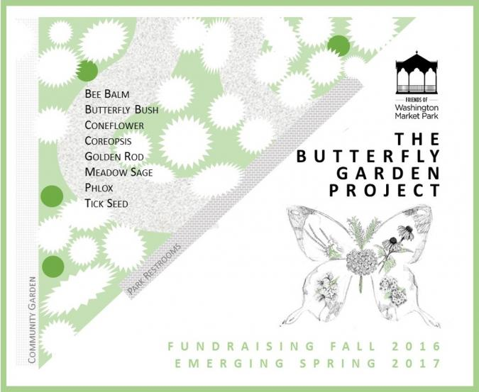 ... Preliminary Plan For The Butterfly Garden At Washington Market Park ...