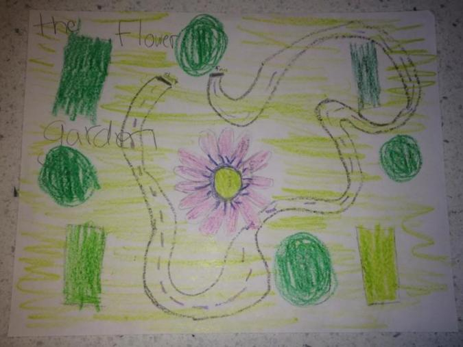 Children's Rendering of the garden