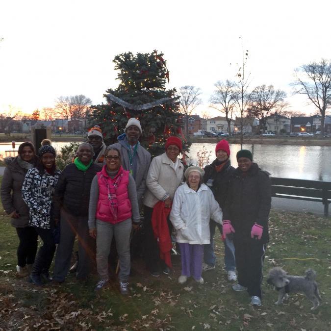 Christmas Tree Lighting At Springfield Park Queens