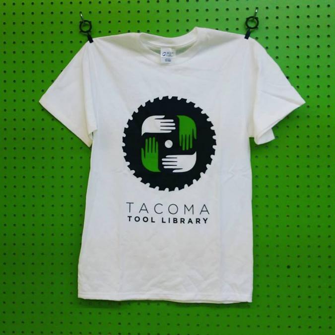 Tacoma Tool Library T-Shirt