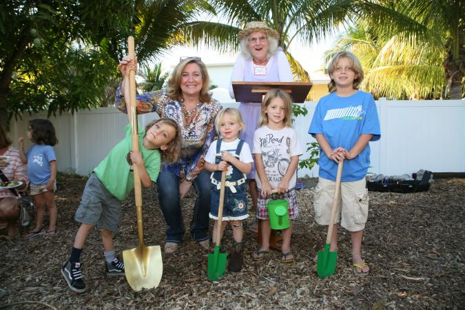 Delray Beach Children's Garden Ground Breaking Event