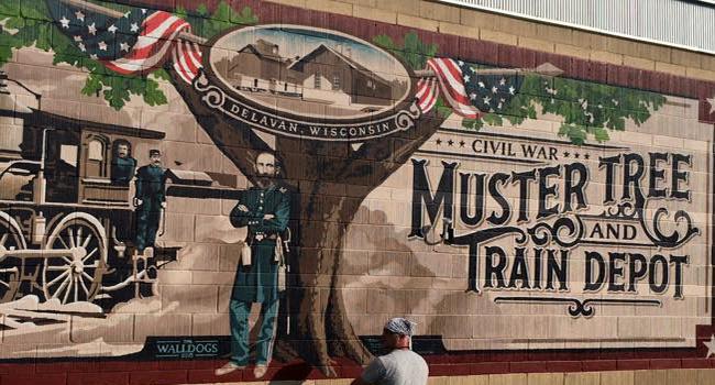 streator walldogs 2018 muster treetrain depot delavan wisconsin - Muster Depot