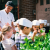 Chef Ken Wiss educating students about herbs
