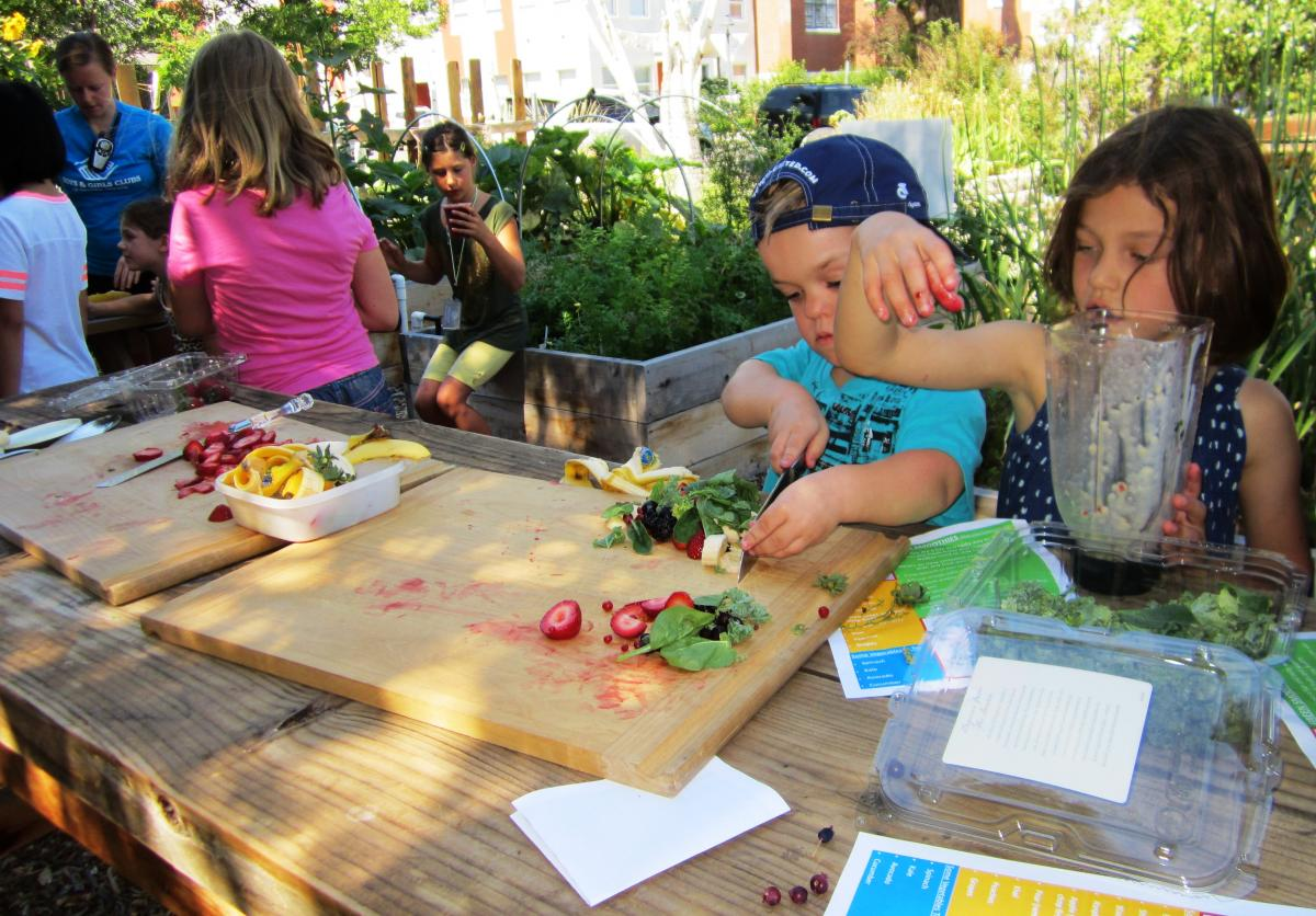 Kansas Avenue Youth Learning Garden Ioby